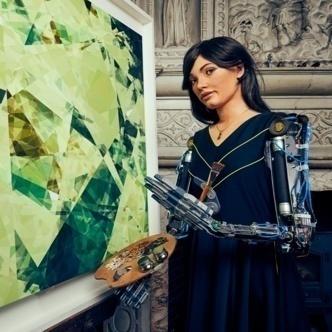 Ai-Da and her artworks