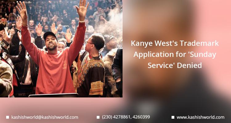 Kanye West's Trademark Application
