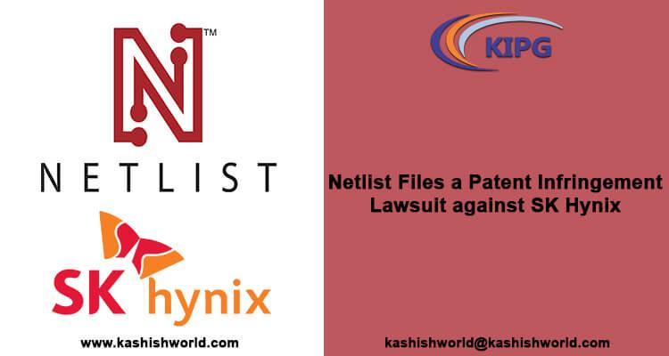 Netlist Files a Patent Infringement